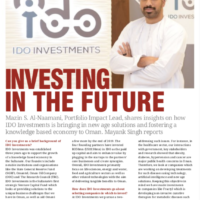 Investing in the Future – Interview for Oman Economic Review